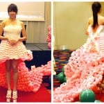 Dress Design for the Longest balloon dress