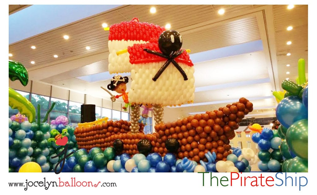 balloon pirate ship