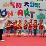 bertram teaching balloons at guangzhou
