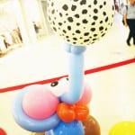 elephant balancing a ball