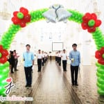 balloon arch for wedding decoration