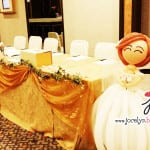 balloon bride and groom by jocelynballoon