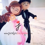 balloon decoration-wedding couple