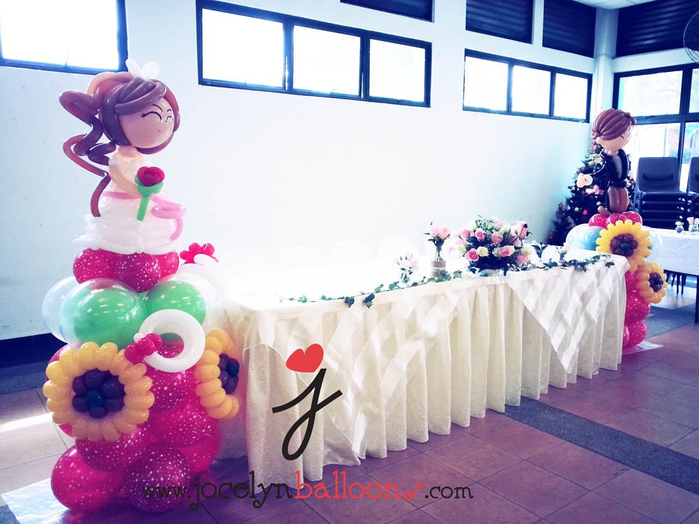 balloons for wedding decorations wedding balloon decorations jocelynballoons the 1471