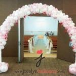 balloon wedding arch