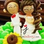 clara's wedding balloon couples
