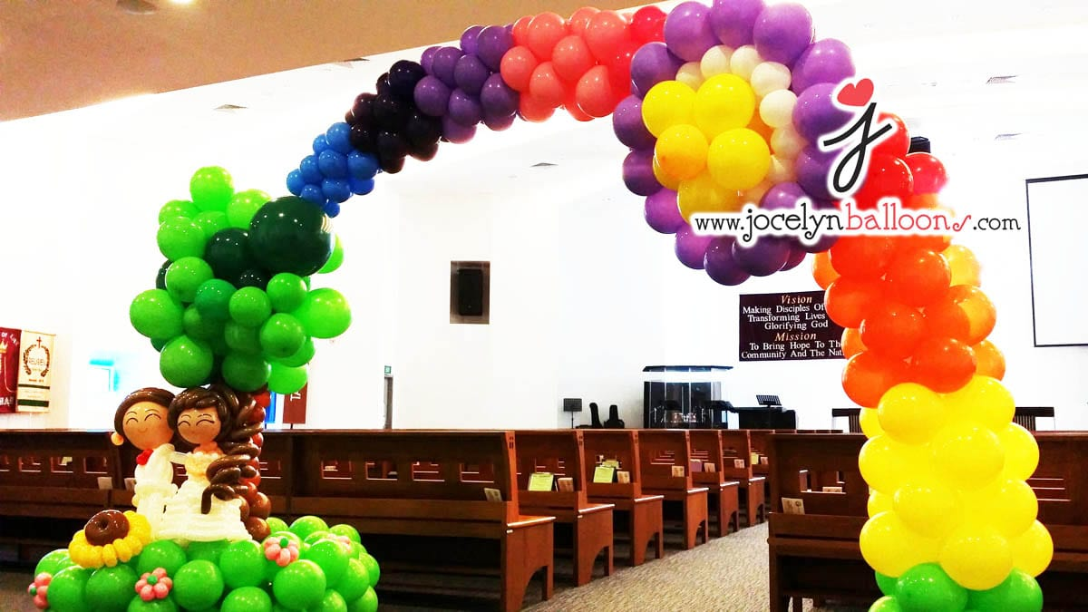 Wedding Balloon Decorations | JocelynBalloons | The Leading Balloon ...