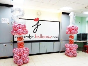 21st birthday balloon columns jocelynballoons the for 21st birthday decoration packages