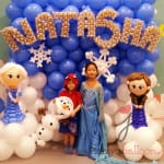 Frozen Theme for Natasha
