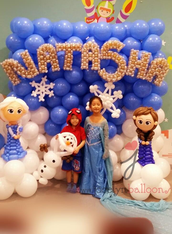 Jocelyn 39 s balloon decorations jocelynballoons the for Frozen balloon ideas