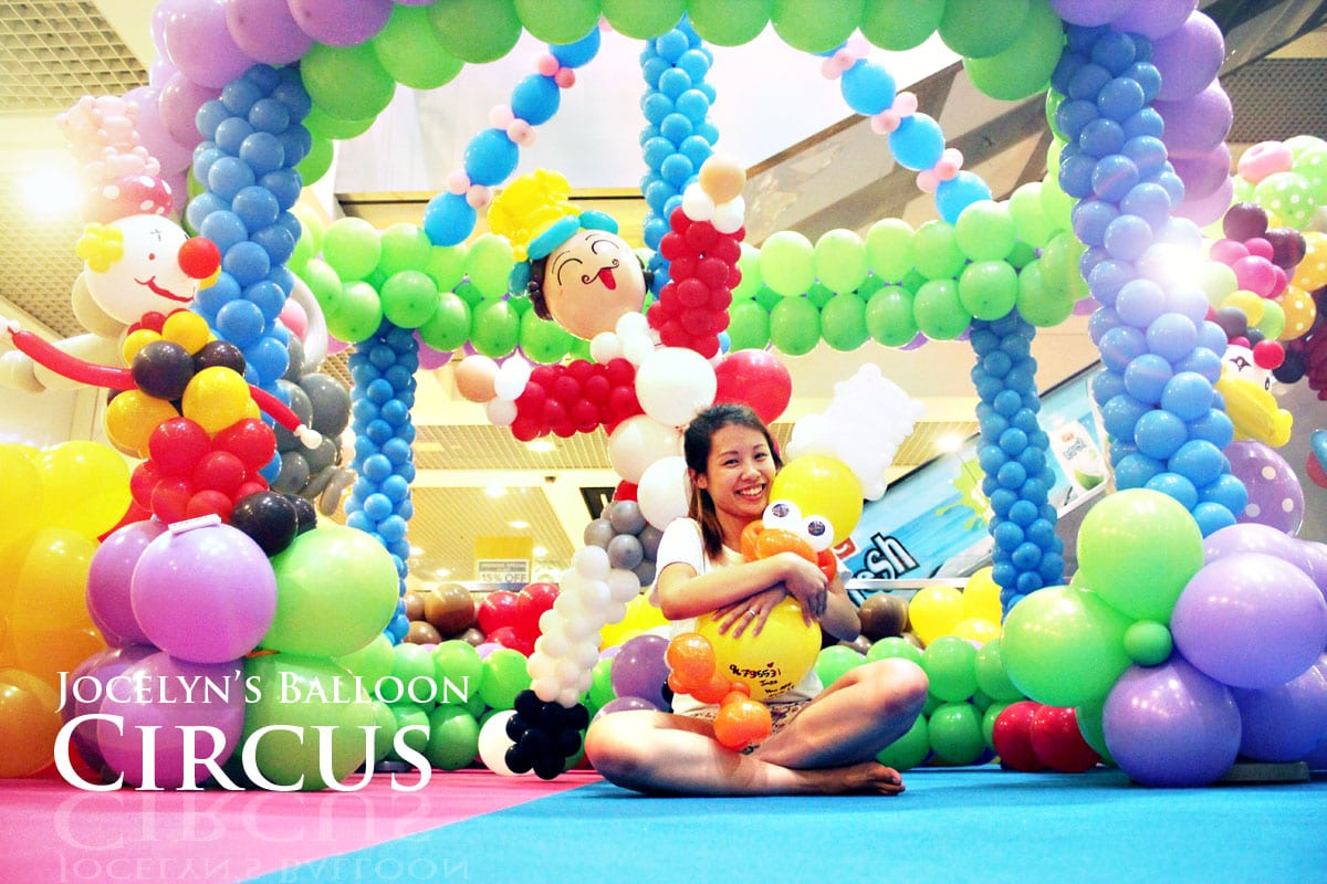 Balloon decoration for birthday party jocelynballoons for Balloon decoration companies