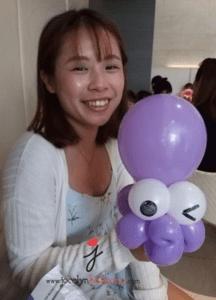 Balloon sculpting birthday parties octopus sculpture