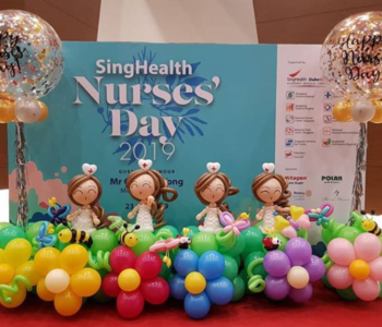 Nurse Day Balloon Decorations