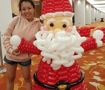 Balloon Santa Claus For Fendi