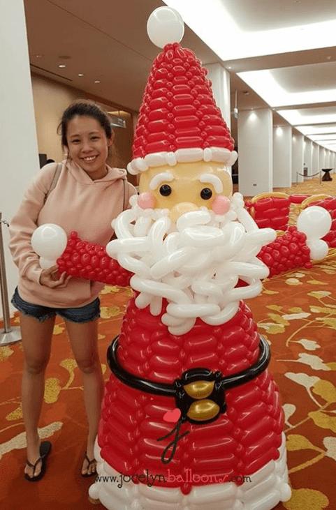 Balloon Santa Claus For Fendi