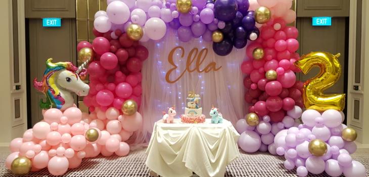 Grand Organic Balloon Decorations